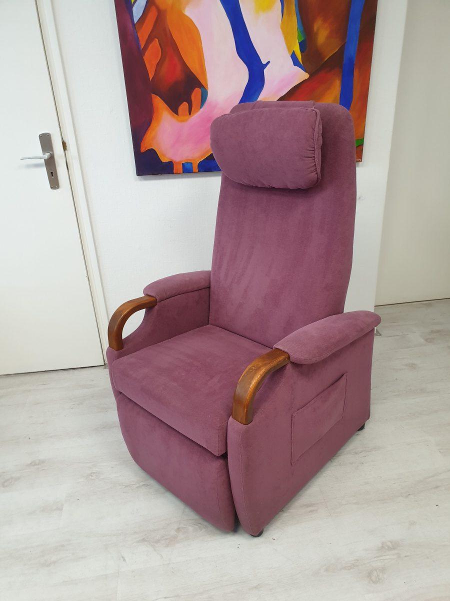 Fitform omnio paars sta op stoel