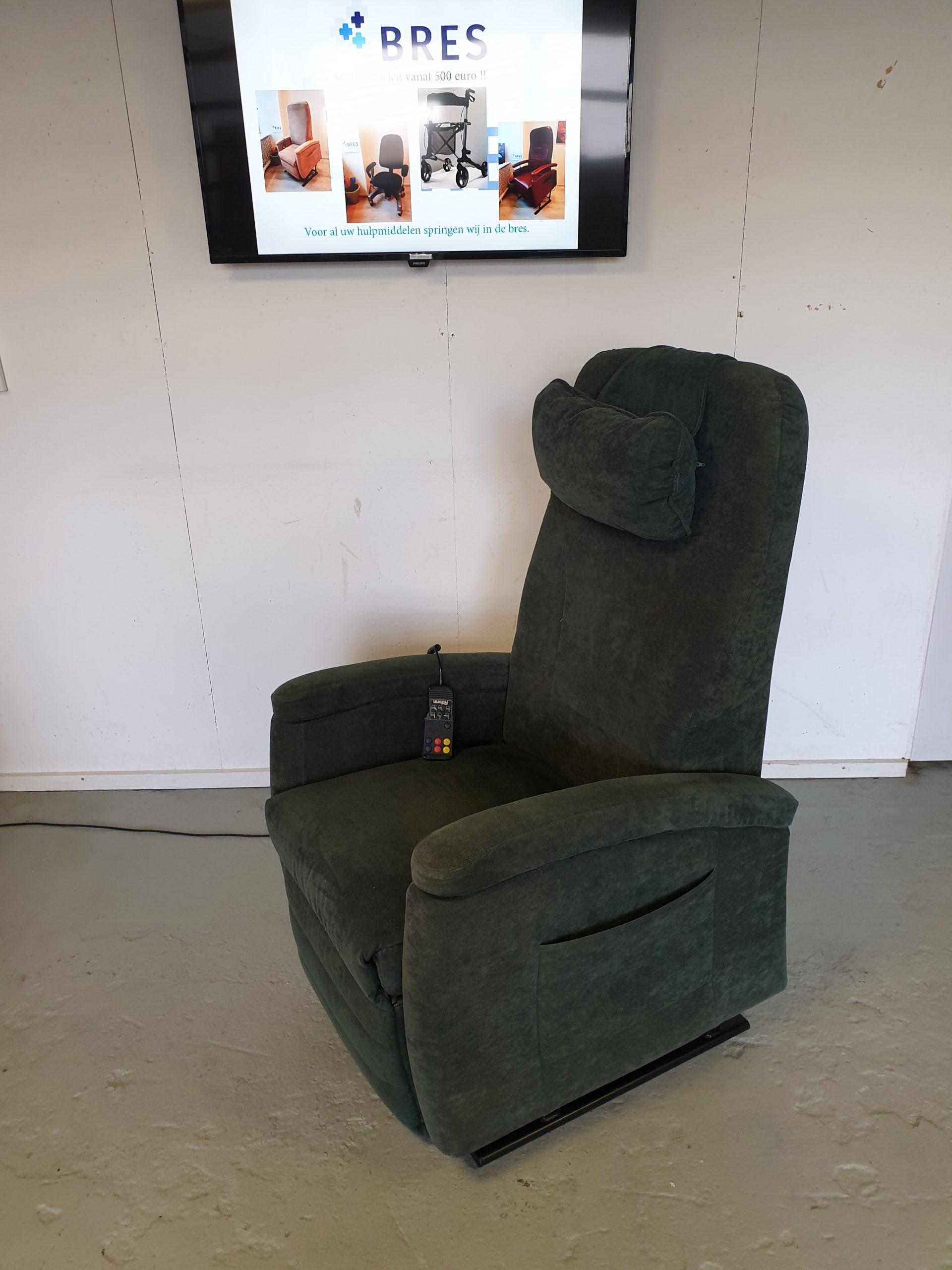 Fitform groen sta op stoel