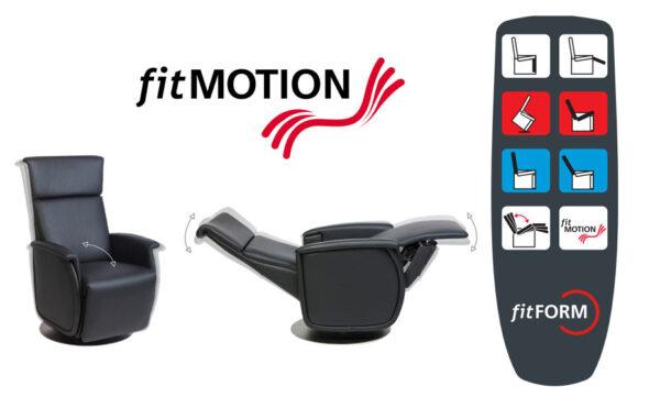 Fitmotion afstandsbediening