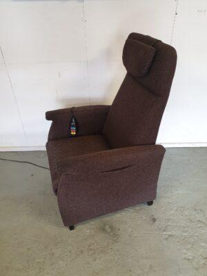 Fitform bruin sta op stoel