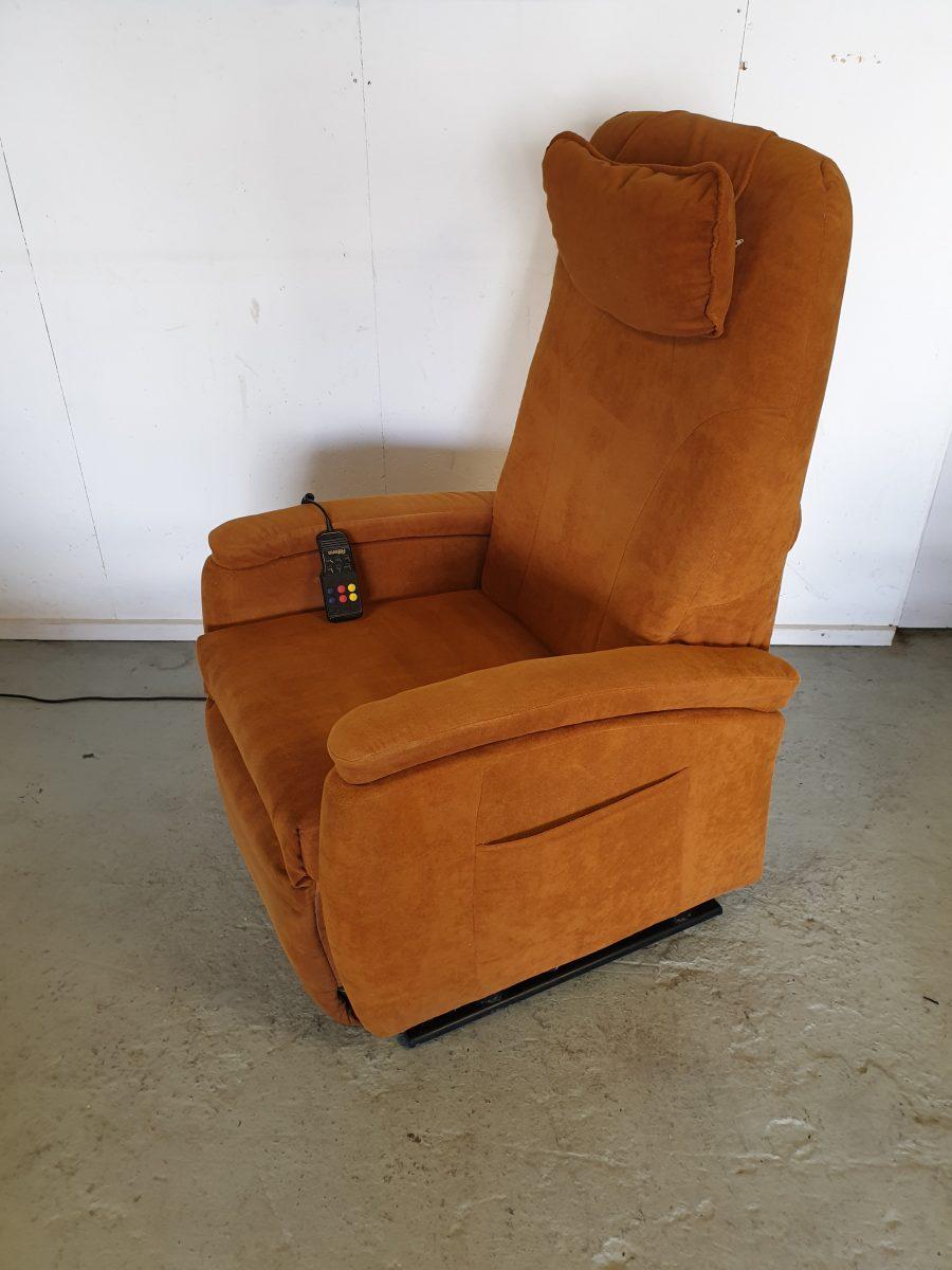 Fitform vario oker sta op stoel
