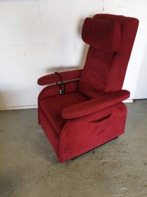 Doge modulair m3 bordeaux rood sta op stoel