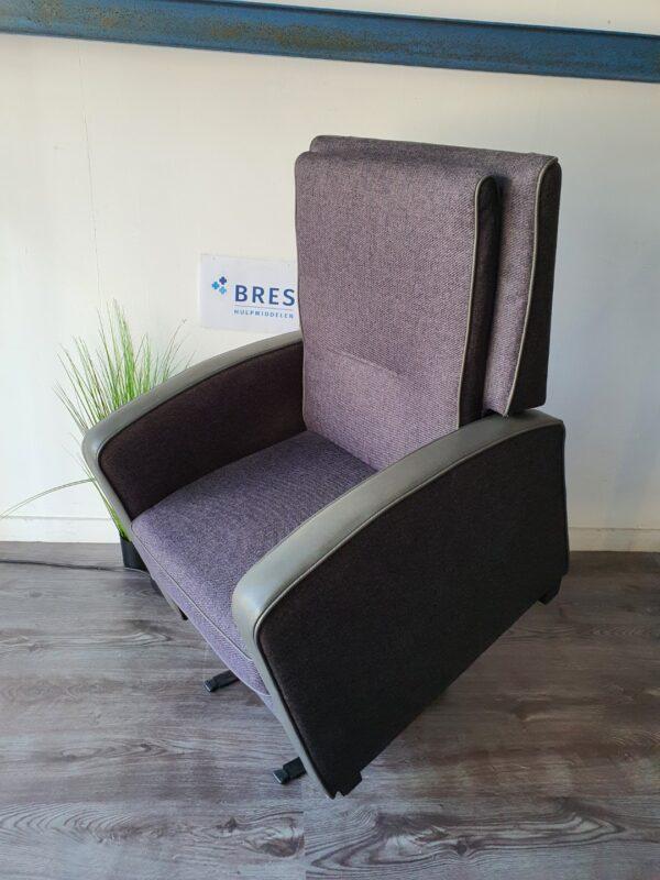 Easysit sta op stoel grijs leder